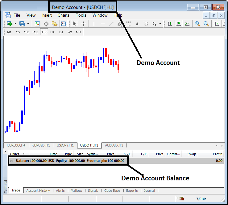 Practice Account Meant to   Practice Forex Trading With