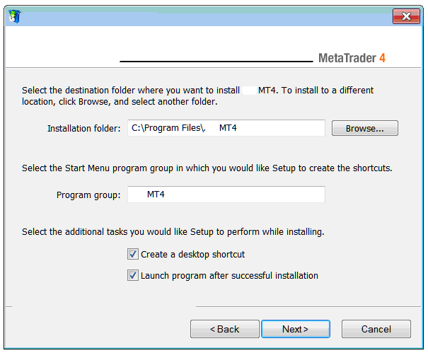 Metatrader 4 Installation Location on Computer
