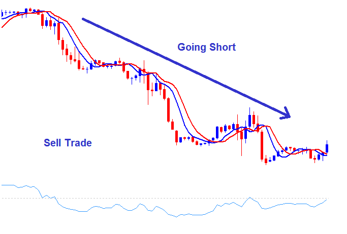 How to Setup a Sell Stock Indices Trade - Going Short